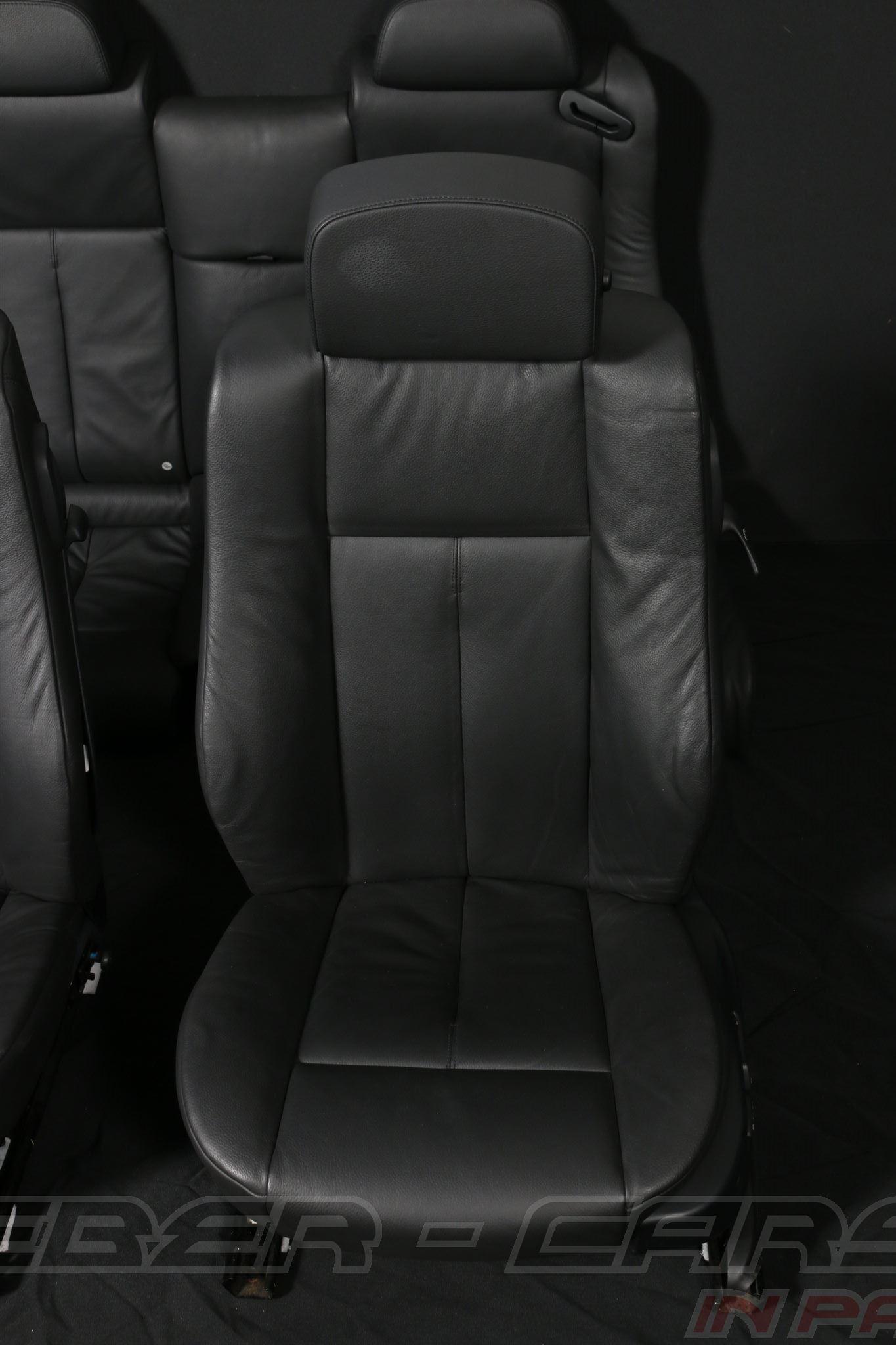 orig bmw 6er e63 coupe leder sitze lordose. Black Bedroom Furniture Sets. Home Design Ideas