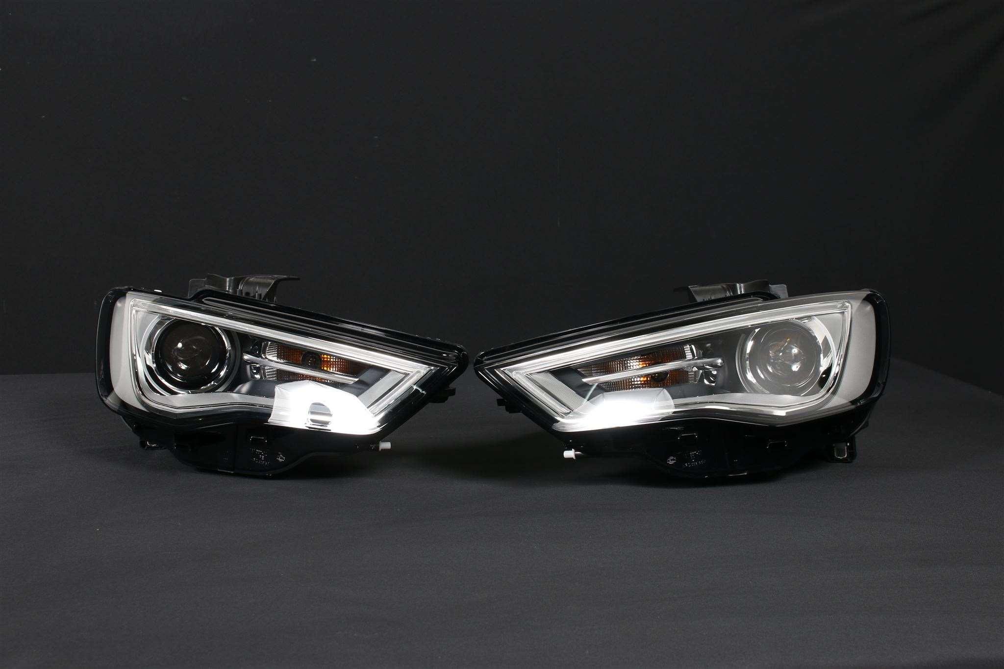audi a3 8v sportback bi xenon 2x headlight l r lights front head lights ebay. Black Bedroom Furniture Sets. Home Design Ideas