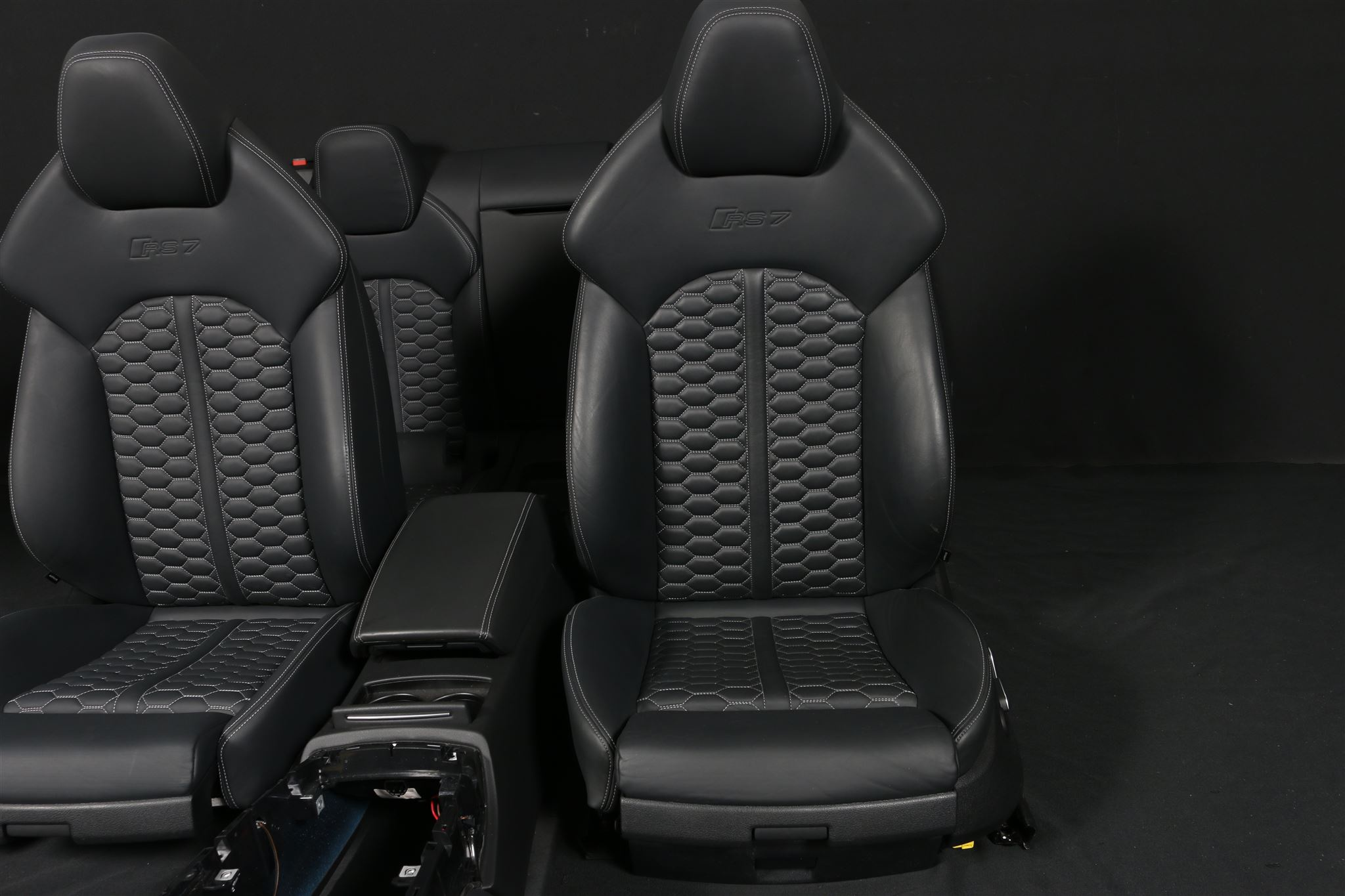 audi s7 rs7 4g recaro sport leder sitze lederausstattung leather seats interior ebay. Black Bedroom Furniture Sets. Home Design Ideas