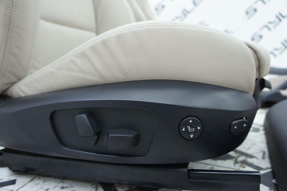 orig bmw 3er e90 limo leder dakota oyster sitze. Black Bedroom Furniture Sets. Home Design Ideas