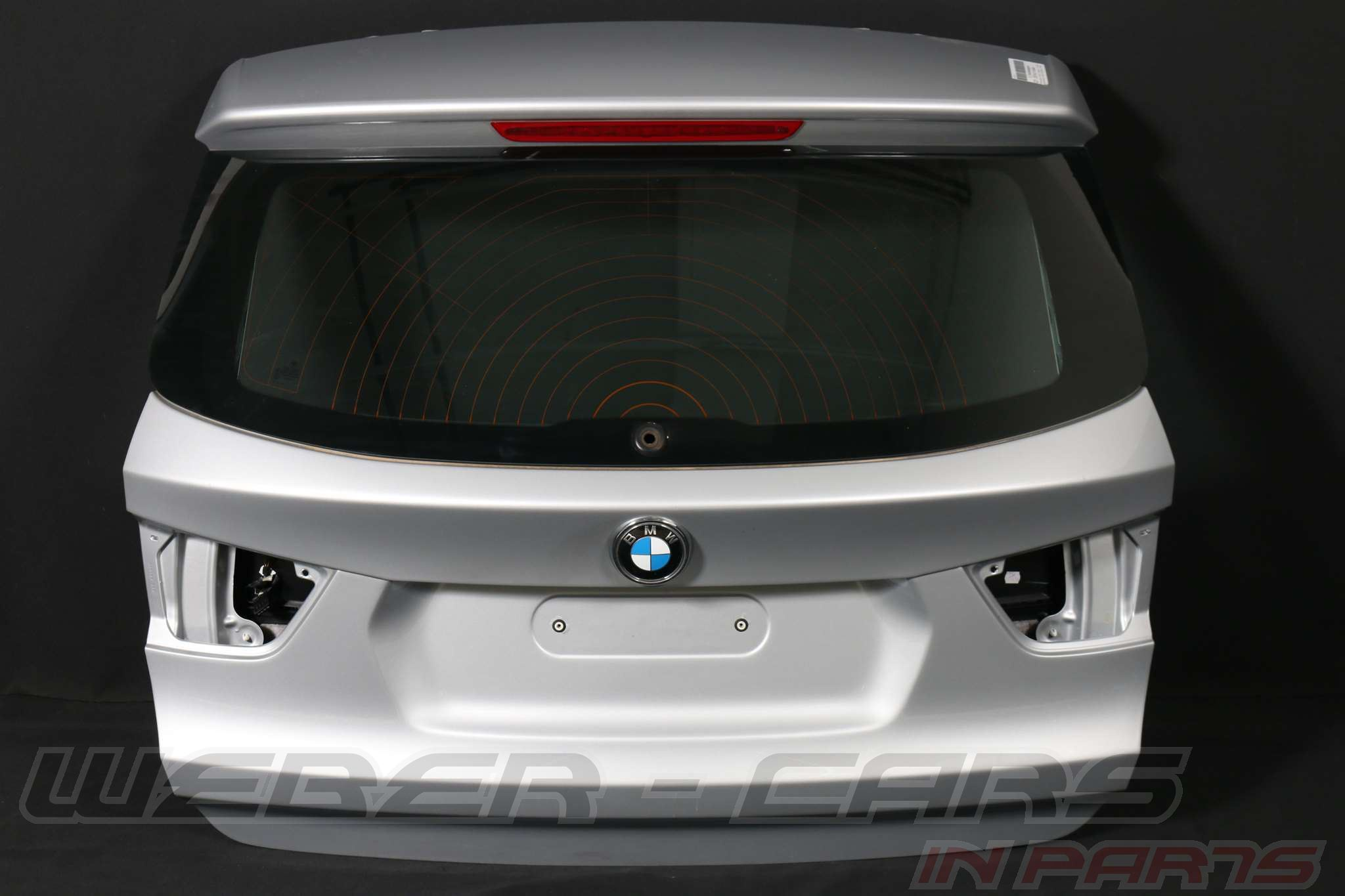 orig bmw x3 f25 heckklappe silber kofferraum heckdeckel deckel rear lid ebay. Black Bedroom Furniture Sets. Home Design Ideas